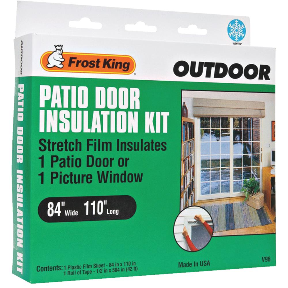 Thermwell Products V96H Frost King Window Outdoor Stretch Film Kit