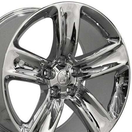 20x10 Wheels Fit Jeep Grand Cherokee - Grand Cherokee SRT Style Chrome Rims -