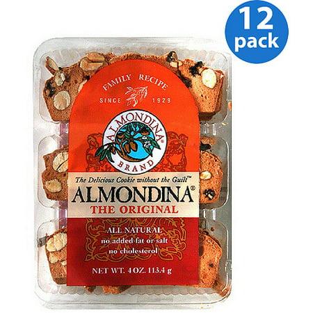 Image of Almondina The Original Almond Cookies, 4 oz, (Pack of 12)