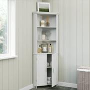 RiverRidge Somerset Tall Two-Door Corner Cabinet, White