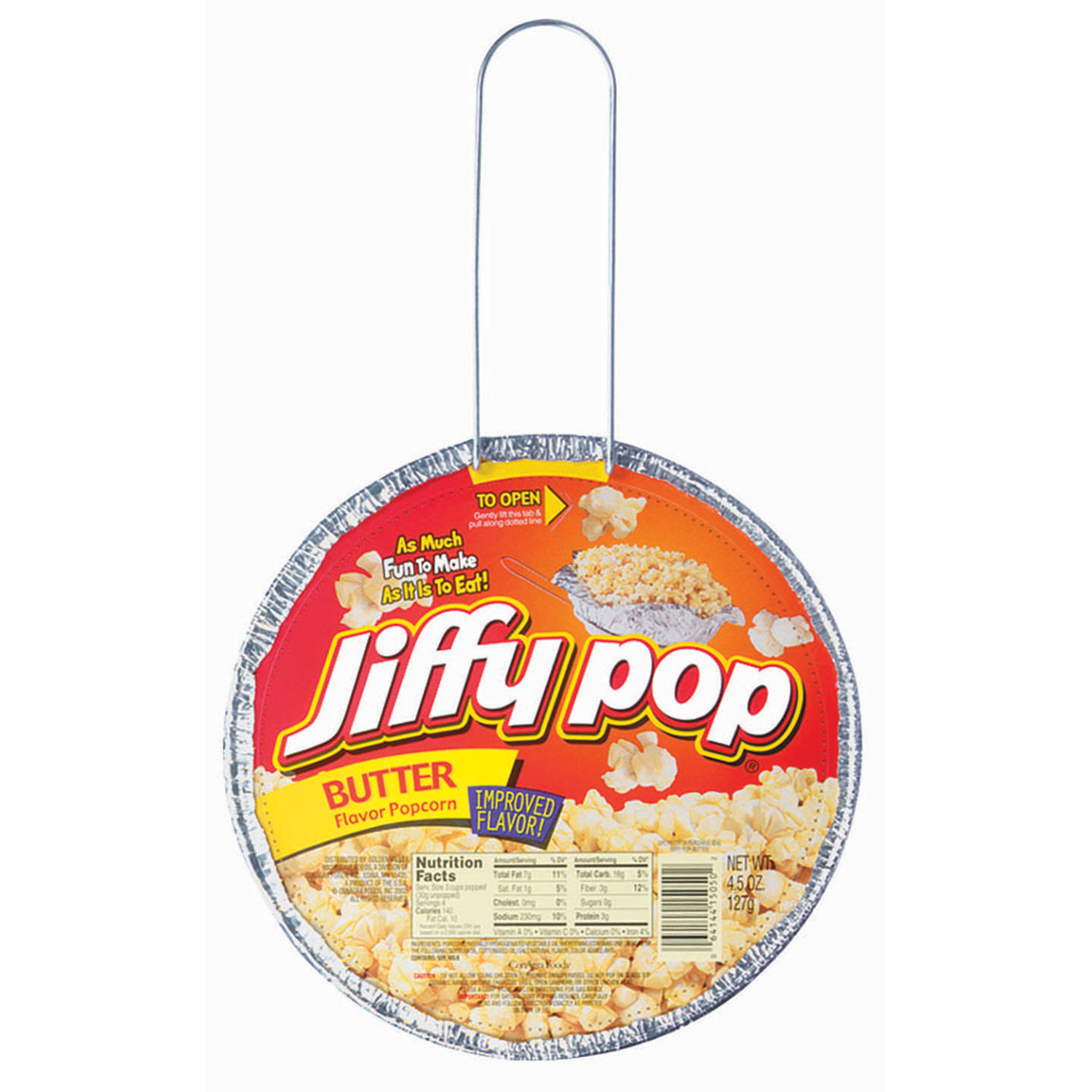 Jiffy Pop Butter Flavored Popcorn, 4.5 Oz. by ConAgra Foods Inc.