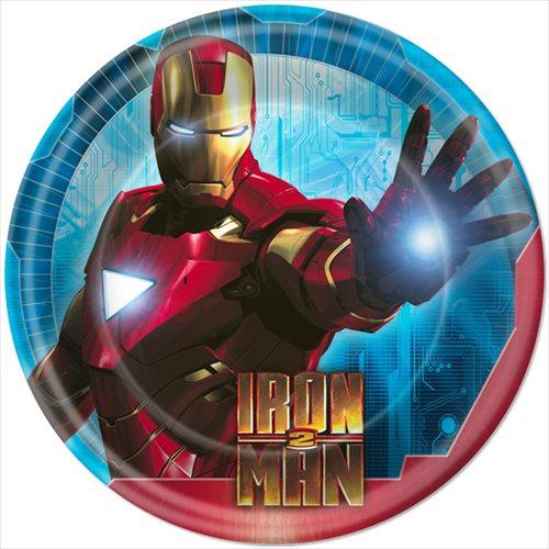 Iron Man 2 Large Paper Plates (8ct)