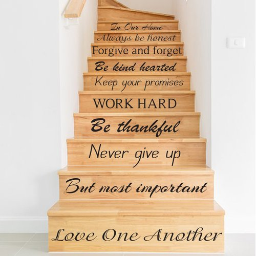 Decal House Home Stairway Wall Decal   Walmart.com