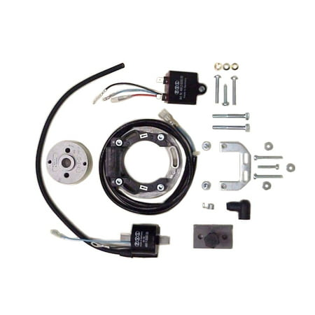 pvl racing digital ignition system stator 79 to 04 yamaha yz125 yz 125 -  walmart com