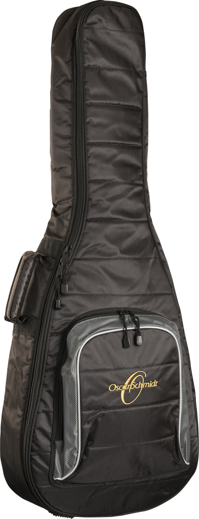 Oscar Schmidt Dreadnought 5mm Gig Bag, HD Nylon Shell, Storge Pocket, OSGBD5 by Oscar Schmidt