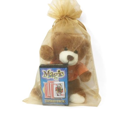 Get Well Soon Talking Bear and Deck Of Magic Cards Gift Set Talking Heads Deck