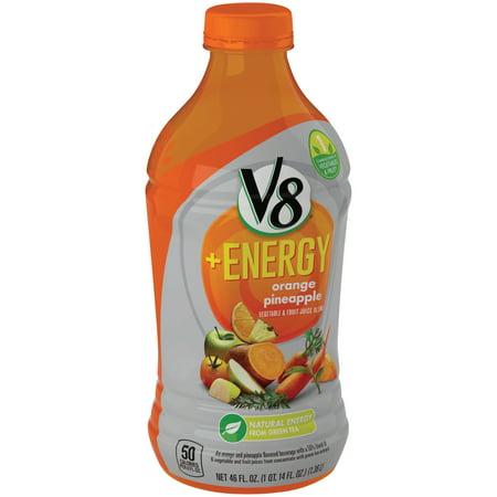 V8 V Fusion   Energy Orange Pineapple  46 0 Fl Oz