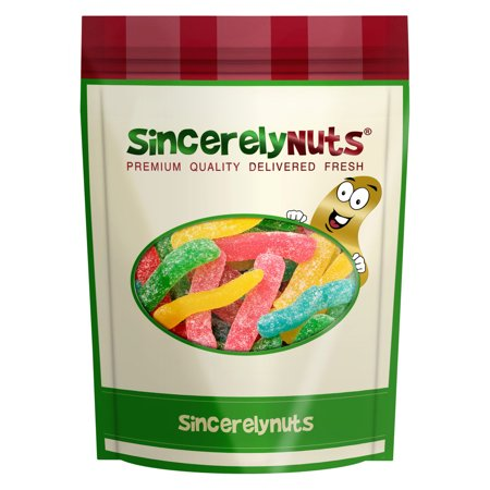 Sincerely Nuts Sour Worms, 3 LB Bag (Sour Worms)