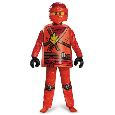 LEGO® Ninjago Kai Deluxe Costume for Kids - Diy Ninjago Costume