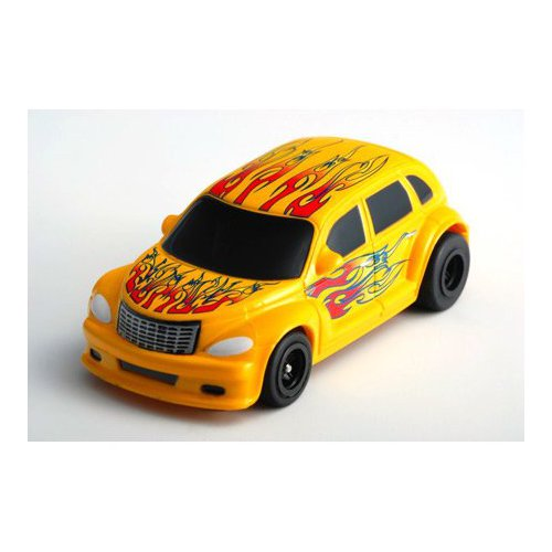 Image of PT Cruiser Yellow Frame Multi-Colored