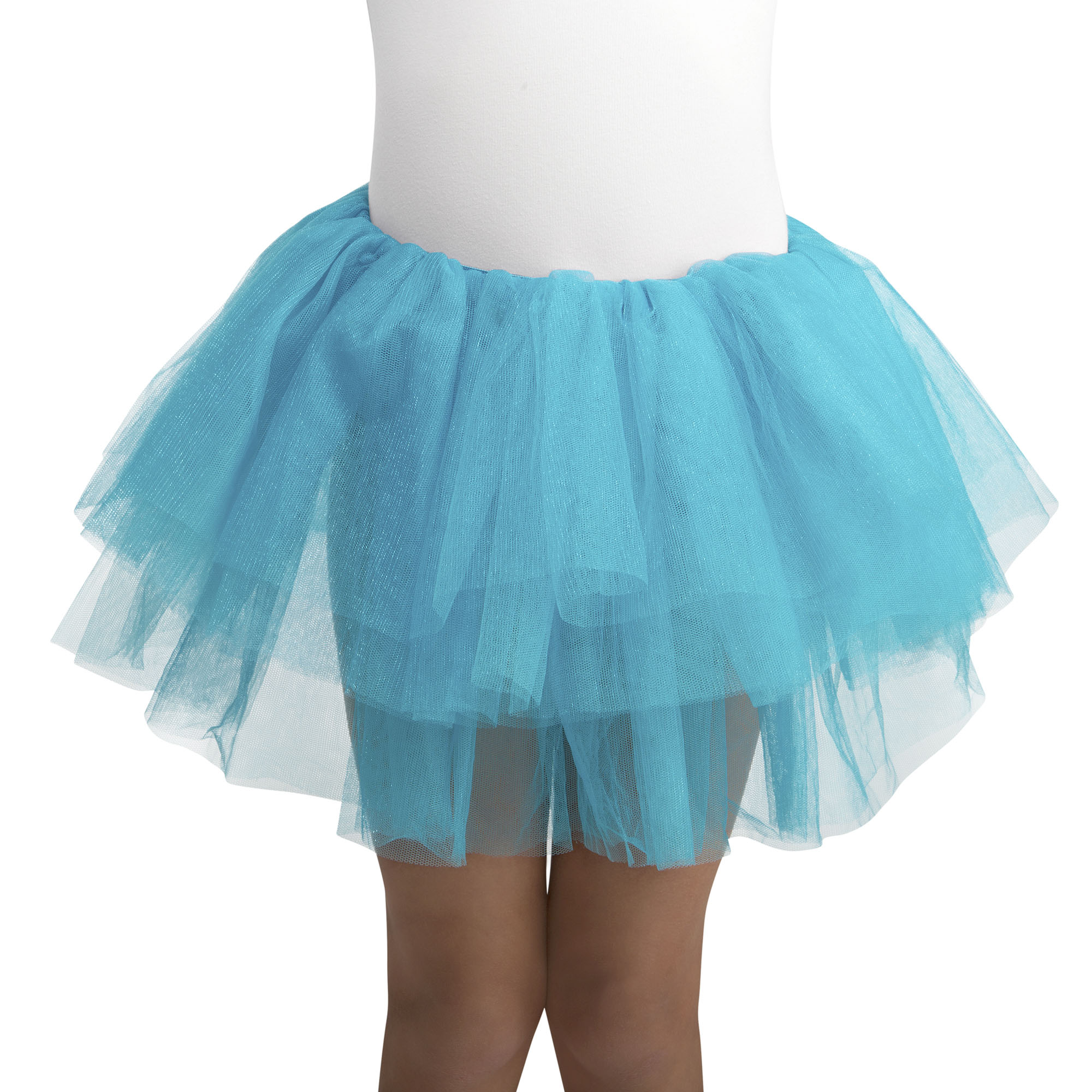 Girl Teal Deluxe Tutu One Size Halloween Dress Up / Costume Accessory