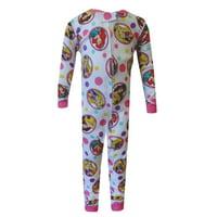 Disney Princess Cotton Toddler One Piece Pajamas