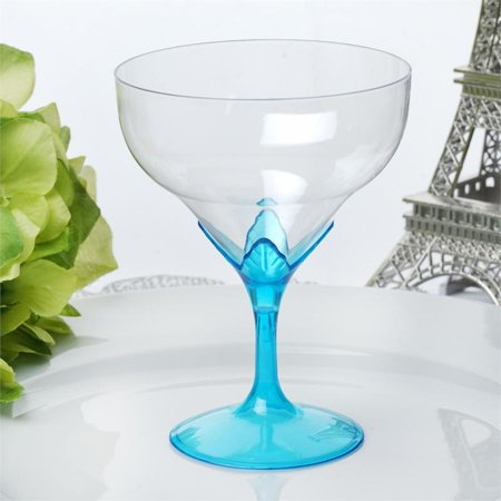Halloween Plastic Wine Goblets (BalsaCircle 6 pcs Clear and Colored Disposable Wine Goblets for Wedding Reception Party Buffet Catering)
