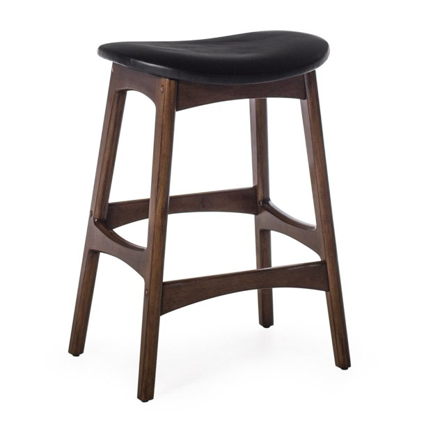 Belham Living Carter Mid Century Modern Backless Counter Stool Walmart Com Walmart Com
