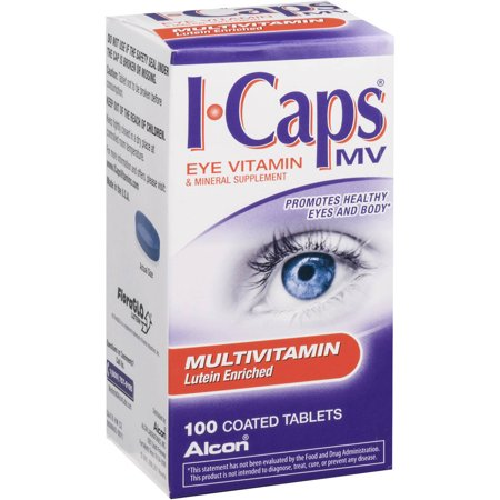 Image of Alcon Icaps Multi Vit Lutein Enrched, 100 CT