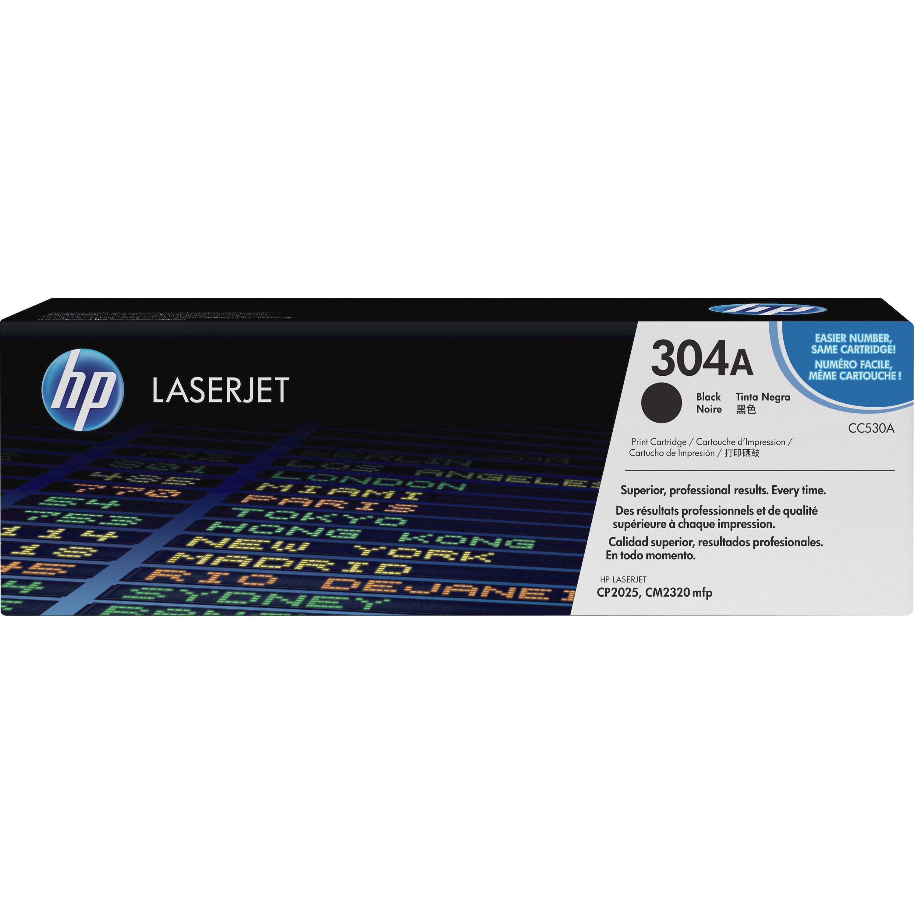 HP 304A (CC530A) Black Original LJ Toner Cartridge