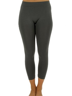 4d53d57cdc225 Product Image Womens Elastic Four way Stretch Seamless Capri Leggings in  Many Colors