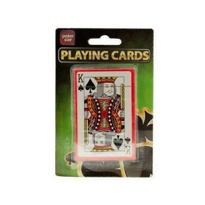 Bulk Playing Cards (Bulk Buys Plastic Coated Poker Size Playing Cards,)