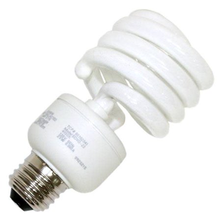 TCP 80102341 Single 23 Watt Cfl Spiral Medium (E26) Compact Fluorescent Bulb Medium Fluorescent Green