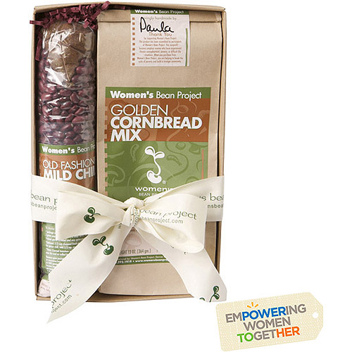 Women's Bean Project Old Fashioned Mild Chili Mix & Golden Cornbread Mix Bundle