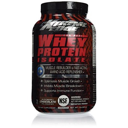 Bluebonnet Extreme Edge Whey Protein Isolate, Chocolate, 32