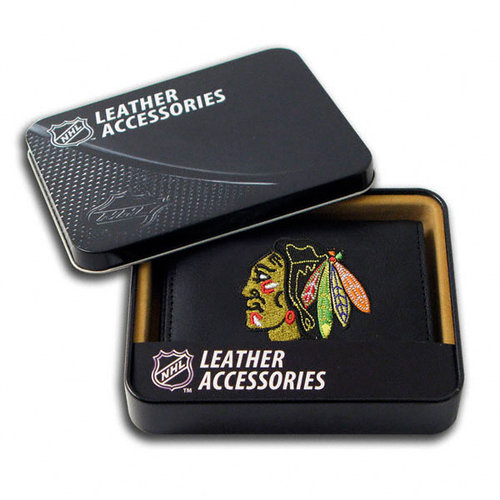 NHL - Chicago Blackhawks Wallet: Embroidered Trifold