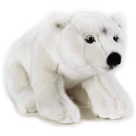 Lelly National Geographic Plush, Polar - Fierce Polar Bear