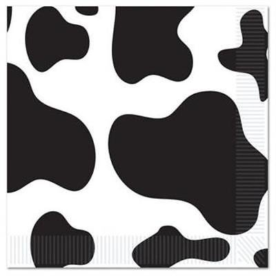 Cow Print Luncheon Napkins , 4PK for $<!---->