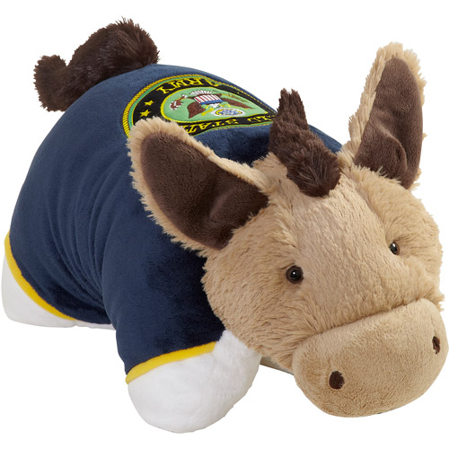 "As Seen on TV Pillow Pet US Army Dress Blue 18"" Folding Plush"