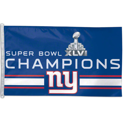 NFL - New York Giants Super Bowl XLVI Champions 3x5 Flag