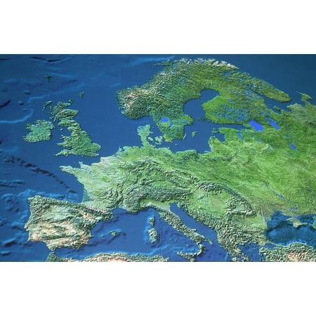 Map Of Europe Posterprint