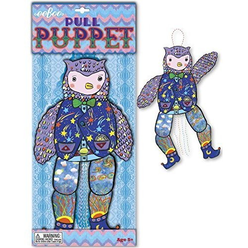 Owl Pull Puppets