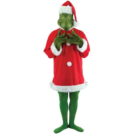 Grinch Adult Halloween Costume - One Size
