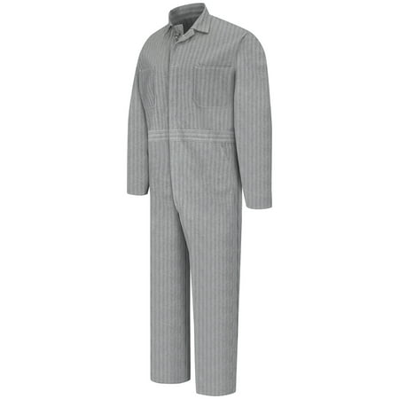 Men's Button-Front Cotton Coverall