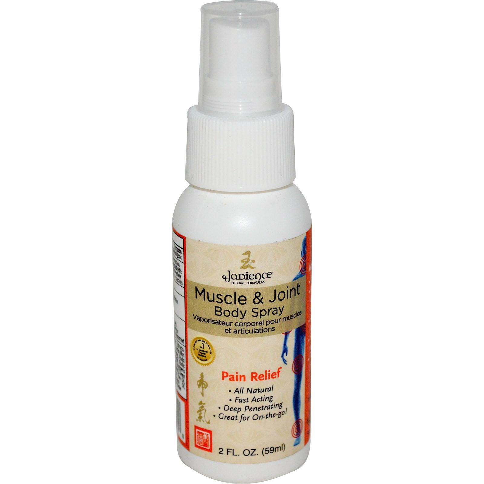 Pro - tec Jadience Herbal Formulas Muscle & Joint Body Spray, 2 Oz