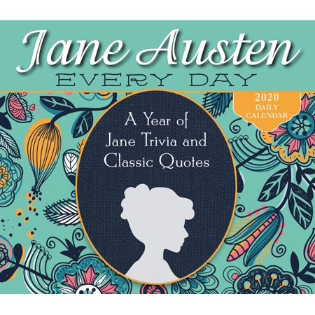 2020 Jane Austen Every Day a Year of Jane Trivia and Classic Quotes Boxed Daily Calendar: By Sellers Publishing (Other) Box Desk Calendar