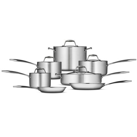 Tramontina Gourmet Tri-Ply Clad 12 Piece Cookware Set
