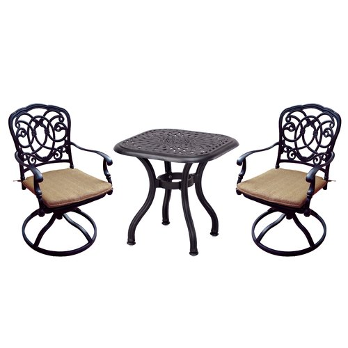 Astoria Grand Dolby 3 Piece Conversation Set with Cushions