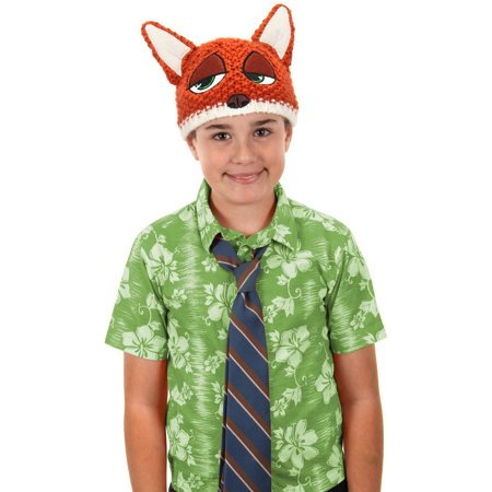 Nick Wilde Knit Beanie Halloween Accessory - Nick Halloween Promo
