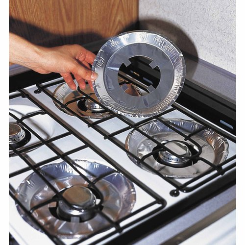 Camco 43800 Gas Stove Burner Liners, 4pk