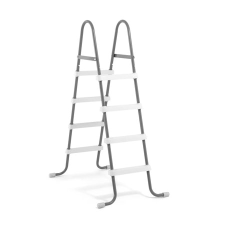 "Intex Steel Frame Above Ground Swimming Pool Ladder for 48"" Wall Height Pools"