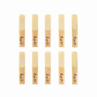Clearance! LADE 10pcs Wooden Beating Reeds for Clarinet Yellow