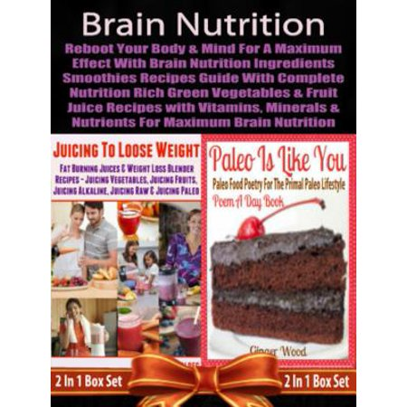 Brain Nutrients (Brain Nutrition: Reboot your Body & Mind with Vitamins, Minerals & Nutrients - eBook )