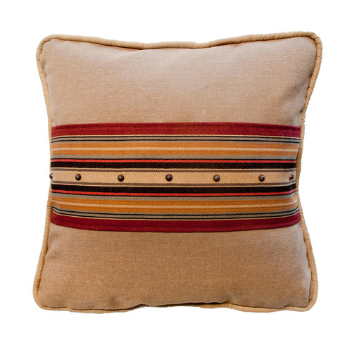 Silverado Home Belmont Cardinal and Wales Graham Cotton Throw Pillow