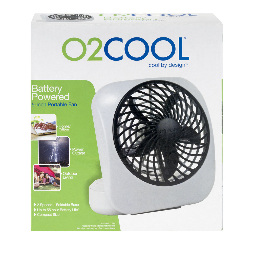 O2 Cool Desktop Fan 1 0 Ct Walmart Com