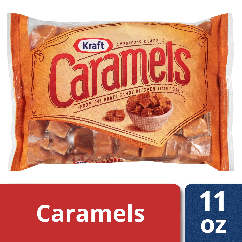 (3 Pack) Kraft Caramels, 11 Oz.