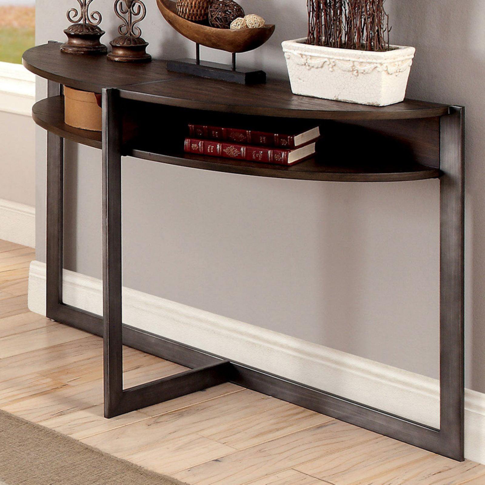 Furniture of America Bristol Rustic Sofa Table