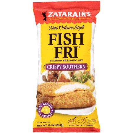 (2 Pack) Zatarain's Crispy Seasoned Fish Fri (Poly Bag), 10 OZ (Pack of 2)