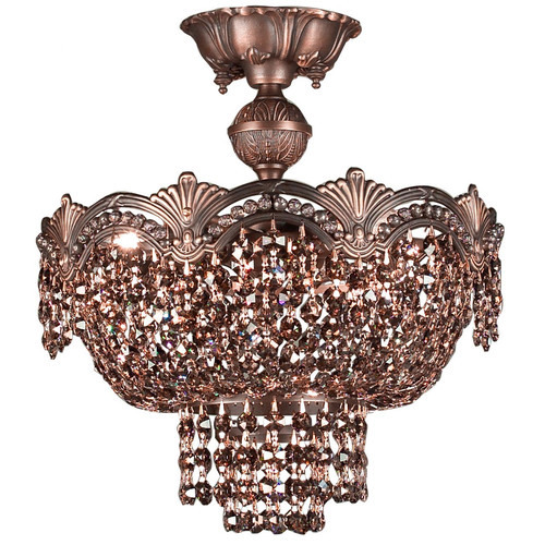 Classic Lighting Regency II 3 Light Semi-Flush Mount
