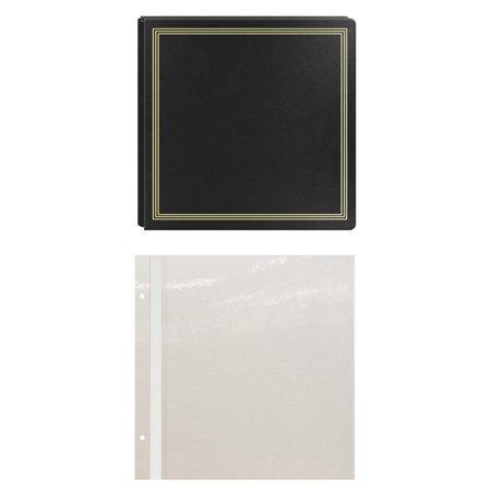 Pioneer Pmv206 X Pando Magnetic Photo Album Black Bundle Walmartcom